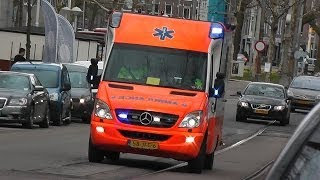 [Compilatie] 14X A1/Spoed Ambulance`s in Amsterdam