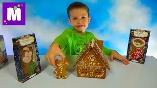 getlinkyoutube.com-Делаем пряничный домик Джинджерленд украшаем белым шоколадом Ginger Gingerbread house