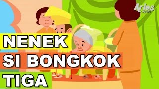 getlinkyoutube.com-Lagu Kanak Kanak Alif & Mimi - Nenek Nenek Si Bongkok Tiga (Animasi 2D)