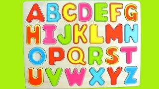 getlinkyoutube.com-Alphabet learning with play doh   ABCD learning ✔