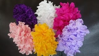 getlinkyoutube.com-How to make easy paper flowers / DIY Mother's day craft