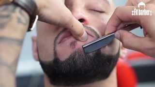 Skin Fade with a Beard Trim Haircut Tutorial (Step by Step)
