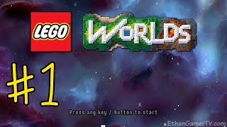 Ethan plays LEGO Worlds (#1) | KID GAMING