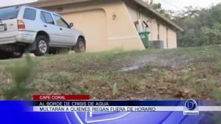 Al borde de crisis de agua en Cape Coral