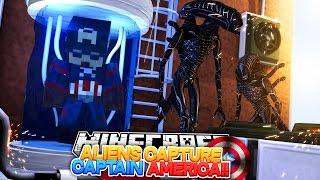 Minecraft Adventure - CAPTAIN AMERICA IS CAPTURED!!