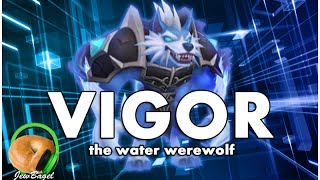 getlinkyoutube.com-SUMMONERS WAR : Vigor the Water Werewolf - Gameplay Spotlight