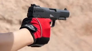 getlinkyoutube.com-実弾射撃 FN ファイブセブン 5.7mm弾 (FN Five-seveN 5.7x28)