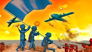 Minecraft | RED VS BLUE ARMY SOLDIERS CHALLENGE!