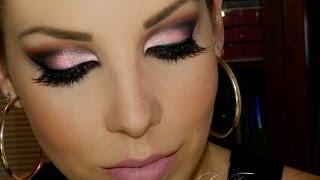 getlinkyoutube.com-Maquiagem marcante com sombra rosa, por Lu Ferraes