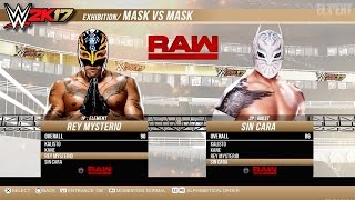 WWE 2K17 PS4/XB1 - Mask vs Mask Match - Epic Gameplay Notion