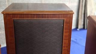 Vintage Radiogram,Dynatron HFC 205-Garrard turntable 4 x Speakers