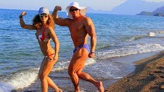 getlinkyoutube.com-Мы на отдыхе в Турции (на пляже)