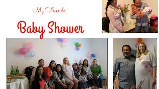 My Friend's baby shower   Saturday vlog
