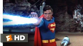 Superman III (9/10) Movie CLIP - Superman vs. Supercomputer (1983) HD