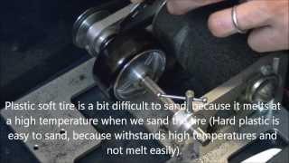 getlinkyoutube.com-How I make front narrow drift tires for my RWD RC