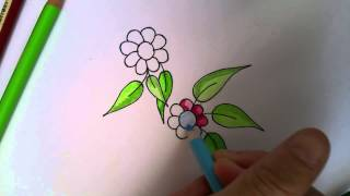 getlinkyoutube.com-Colored Pencil Blending Technique Using Vaseline 2