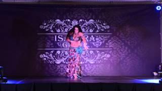getlinkyoutube.com-Tamila Kolodiy -oriental (Hayart Albi Maak) performance at the Isadora Cup 2013