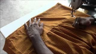 getlinkyoutube.com-Salwaar Kameez Tutorial Part 4 Salwaar Stitching