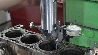getlinkyoutube.com-Капитальный ремонт двигателя как это должно быть. Расточка. Шлифовка. Хонингование. Гильзовка.