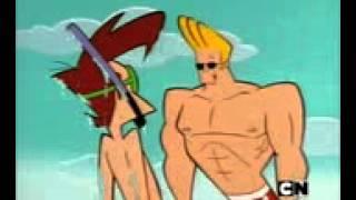 Johnny Bravo español latino un dia en la playa