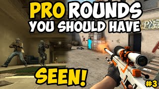 5 PRO ROUNDS YOU SHOULD HAVE SEEN! #3