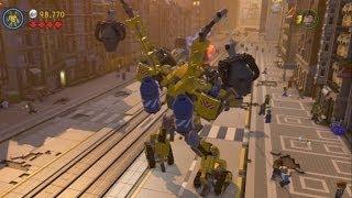 getlinkyoutube.com-The LEGO Movie Videogame - Bricksburg Under Attack 100% Guide (Gold Instruction Pages/Pants)