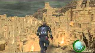 getlinkyoutube.com-Resident Evil 4 All Boss Fights ( Professional ) & Glitches by agniiz
