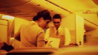 getlinkyoutube.com-Emirates to Dubai Flight Review: EK405 Singapore to Dubai