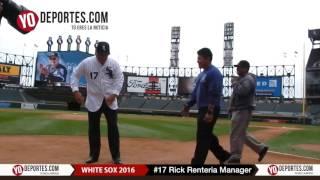 Rick Renteria nuevo manager de los White Sox-Medias Blancas de Chicago
