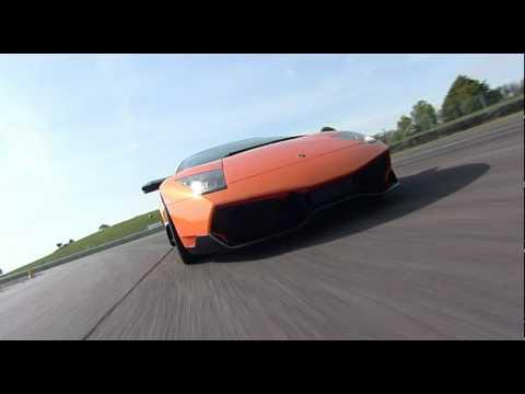Lamborghini LP670 Sv Murcielago Driving Experience at Thruxton
