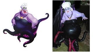 getlinkyoutube.com-The Making of Ursula from The Little Mermaid - The Costume