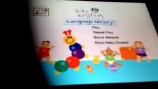 getlinkyoutube.com-Opening To Baby Einstein Language Nursery 2003 DVD