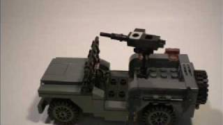 getlinkyoutube.com-Lego WWII Willys Jeep instructions