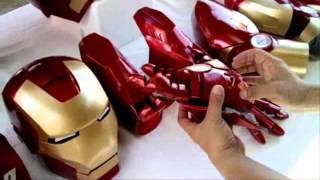 getlinkyoutube.com-BAD ASS WERX presents: IRON MAN MK7 EVA Foam Full Suit