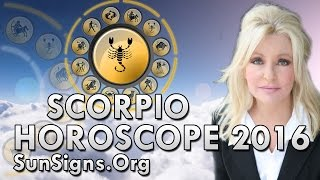 Scorpio 2016 Horoscope Predictions