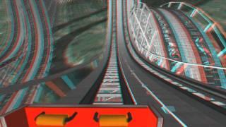 getlinkyoutube.com-3D Rollercoaster: Bullet Coasters (Racing Coasters) (Colossus-3d Glasses needed-NoLimits Coaster)