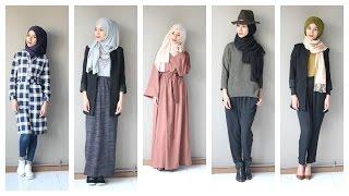 getlinkyoutube.com-Une semaine d'OOTD  Hijab avec Jennah-boutique