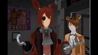getlinkyoutube.com-[MMD X FNaF] That's Freddy?