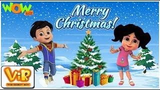 Christmas Special Compilation - Vir | Cartoon for Kids | Hindi Cartoons | Wow Kidz