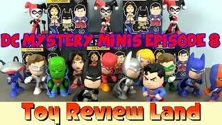 getlinkyoutube.com-DC Mystery Minis Episode 8: With A Guest Appearance From Imaginext Batman & Superman!