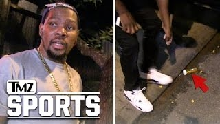 getlinkyoutube.com-Kevin Durant -- Oops, There Goes the Weed!!! | TMZ Sports