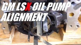 getlinkyoutube.com-Gm LS oil pump alignment.