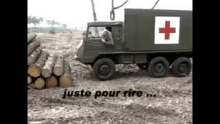 getlinkyoutube.com-Pinzgauer 712 SAN , prise en main !