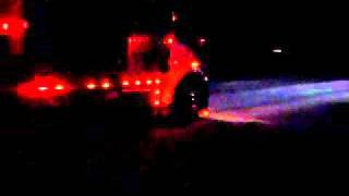 getlinkyoutube.com-Detroit Diesel In Freightliner Classic Straight Piped