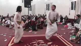 getlinkyoutube.com-حسين محب ورقصة جميل العنسي في أفرآح آل الزاهري الكميم