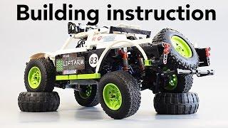 getlinkyoutube.com-Инструкция / Building Instruction - Fastest LEGO Trophy Truck 2015