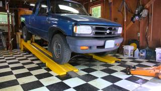 getlinkyoutube.com-Using the Kwik-Lift Car Ramp