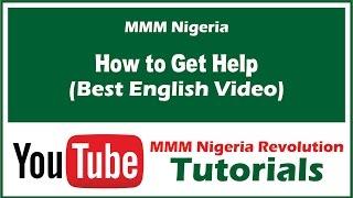 getlinkyoutube.com-How to Get Help on MMM Nigeria - Best Video in English