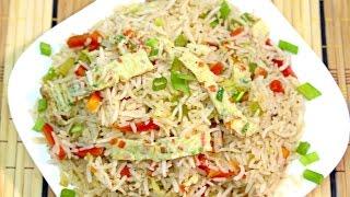 getlinkyoutube.com-Fried Rice Recipe By Food In 5 Minutes