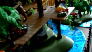 getlinkyoutube.com-Bonniebeth's Playmobil Zoo Diorama